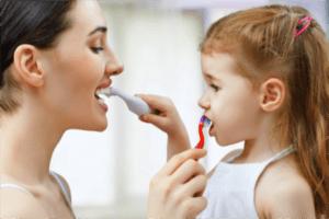Benefits of brushing