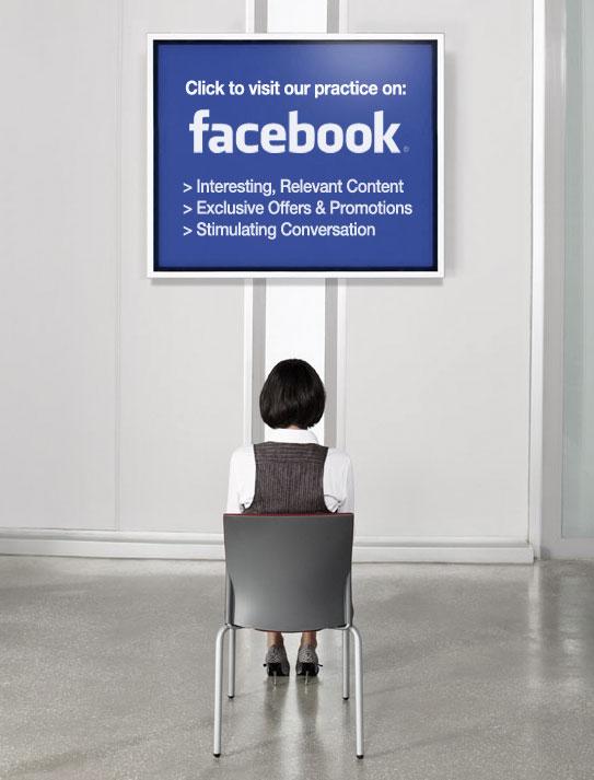 Facebook chair